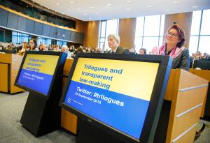 "European Ombudsman event: ""Trilogues and transparent law-making""."