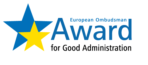 "Logo of the European Ombudsman ""Award for Good Administration"""