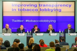 European Ombudsman event on transparency in tobacco lobbying.