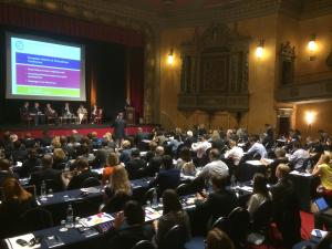 The European Network of Ombudsmen's annual conference in Brussels.