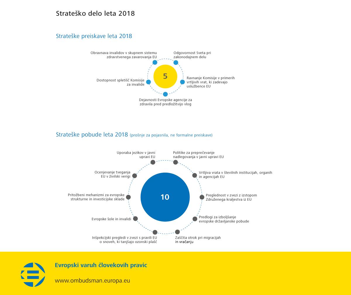 Strateško delo leta 2018