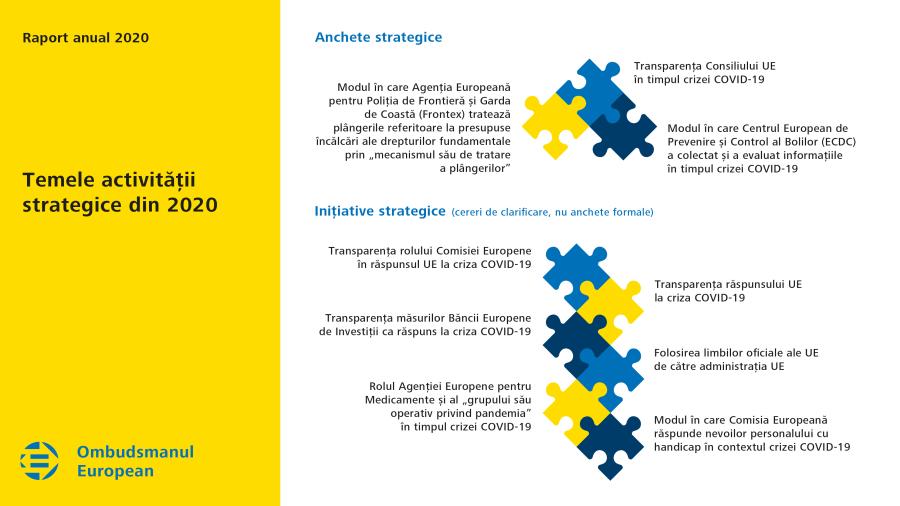Temele activității strategice din 2020