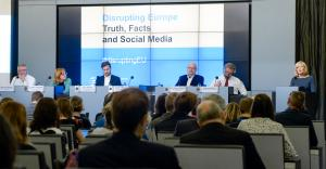 "European Ombudsman event: ""Disrupting Europe: Truth, Facts and Social Media""."