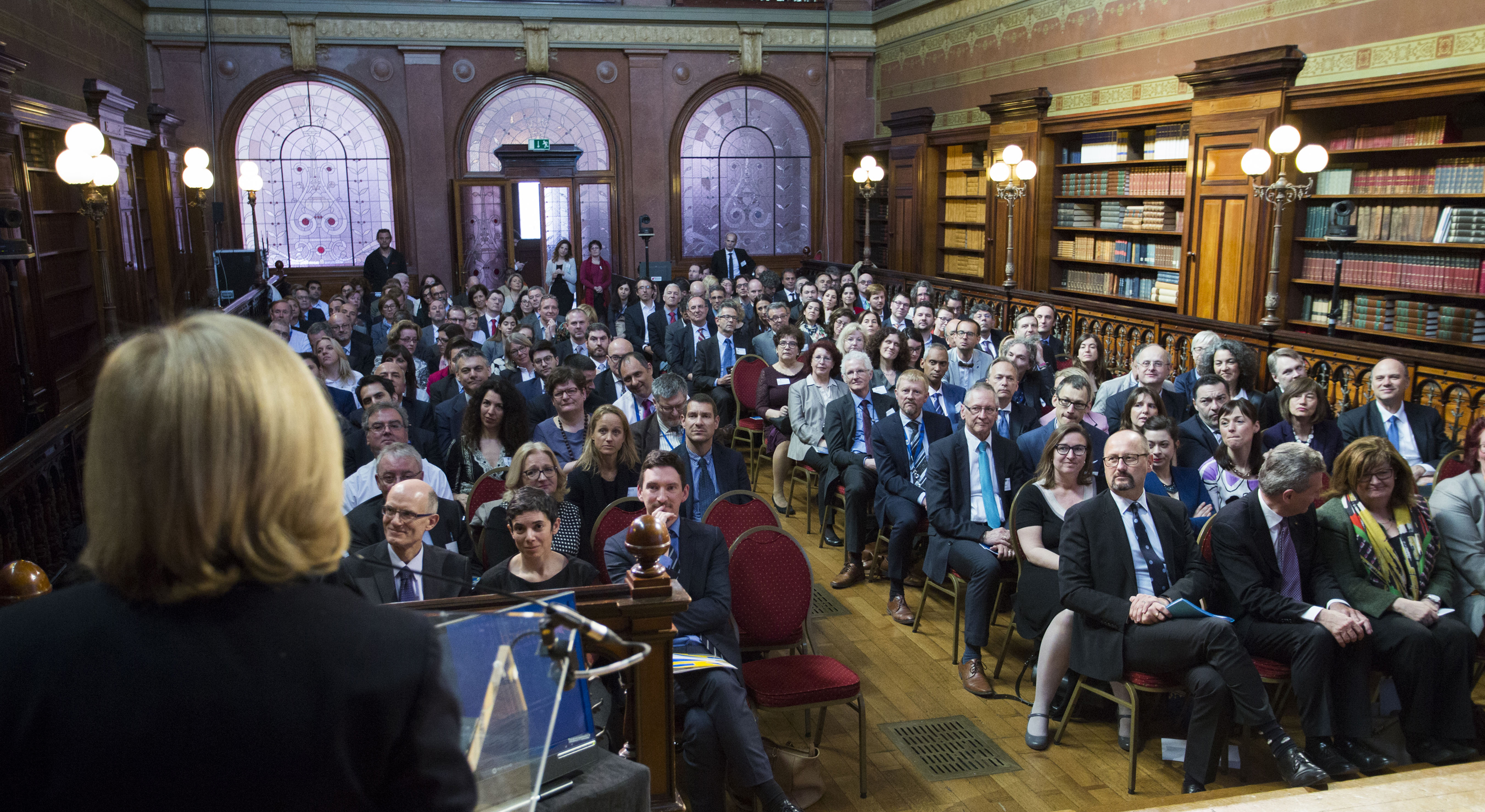 The prize-giving ceremony of the first European Ombudsman's Award for Good Administration.