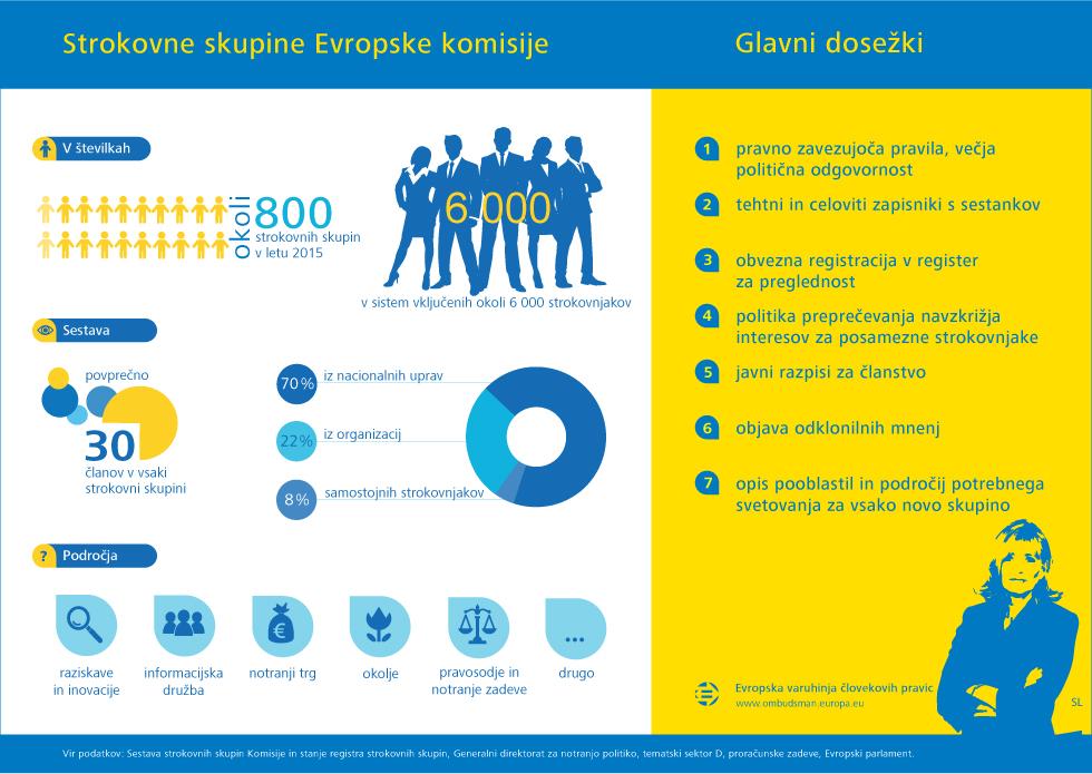 Strokovne skupine Evropske komisije