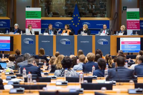 Débat lors de l'atelier conjoint entre le Réseau européen des Médiateurs et le réseau SOLVIT.