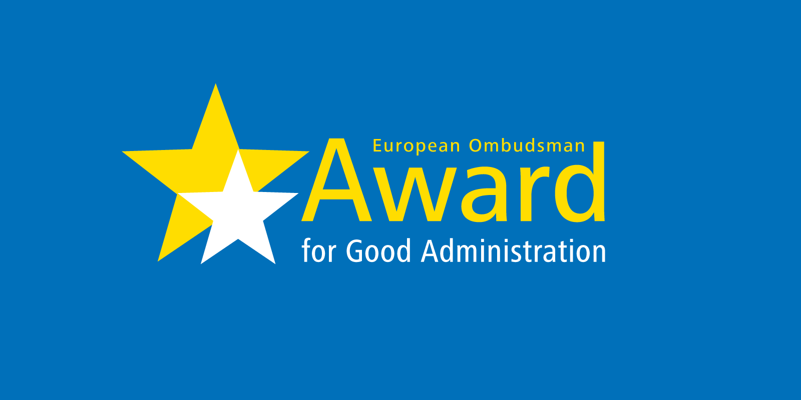 Award for Good Administration 2021