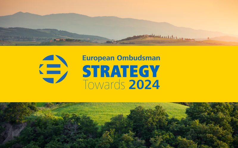 ![Ombudsman unveils new strategy 'Towards 2024']