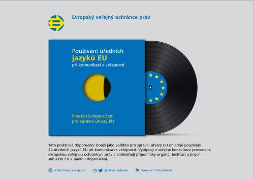 Používání úředních jazyků EU