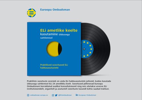 ELi ametlike keelte kasutamine