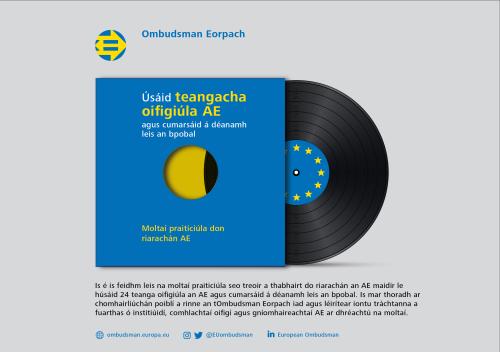 Úsáid theangacha oifigiúla AE