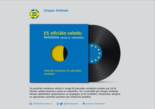 ES oficiālo valodu lietošana