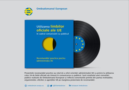 Utilizarea limbilor oficiale ale UE